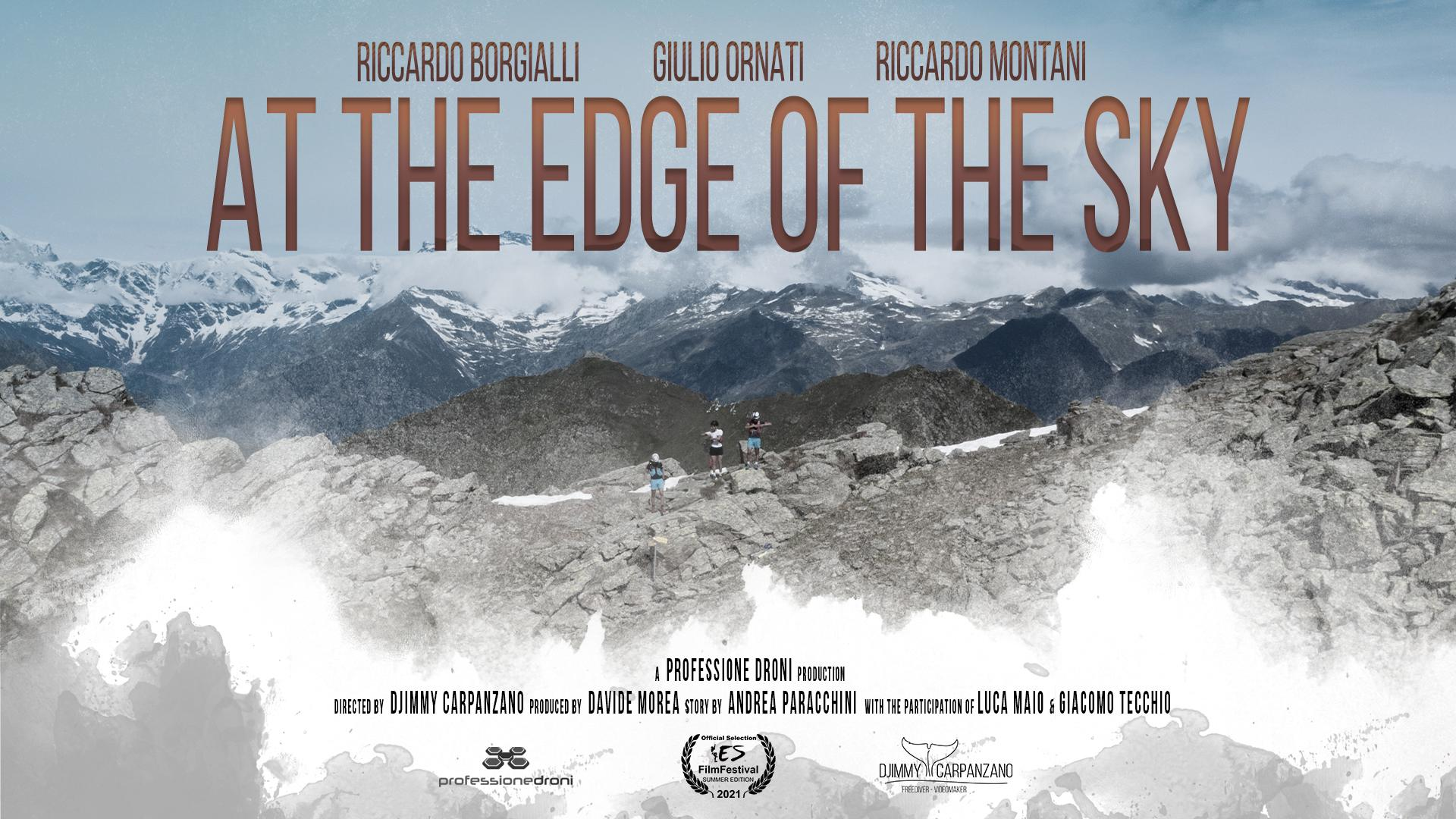 At the edge of the sky